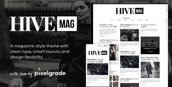 HiveMag - An Elegant WordPress Blog Theme
