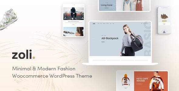 Zoli - Minimal & Modern Fashion WooCommerce WordPress Theme - WooCommerce eCommerce