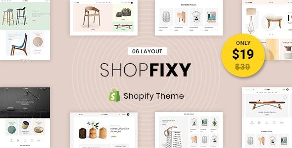 ShopFixy - Sectioned Multipurpose Shopify Theme - Miscellaneous Shopify