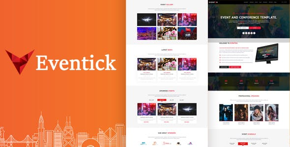 Eventick - Event & Conference HTML Template by templatehouse_net