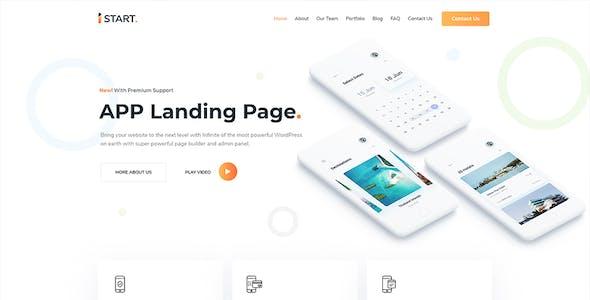 iStart - WordPress Startup Business Theme