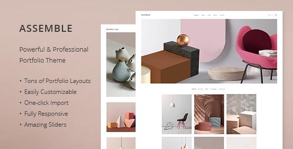 Assemble - Portfolio Theme - Portfolio Creative