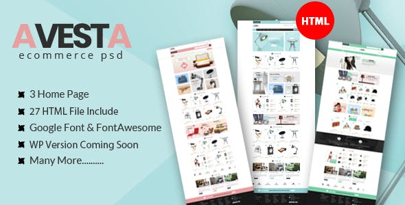 ecommerce psd Free Download | Envato Nulled Script