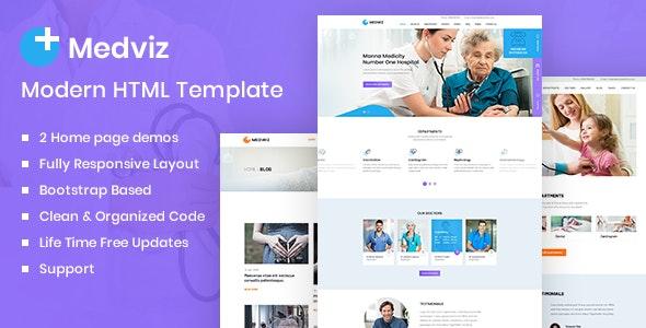 Medviz - Health & Medical template - Health & Beauty Retail
