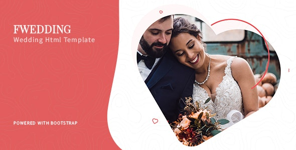 Foxewedding - Html Couple Template - Wedding Site Templates