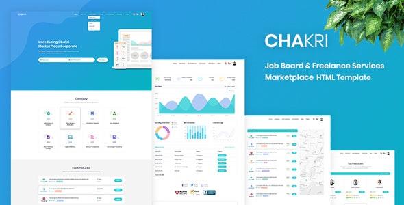 Chakri - Job Board & Freelance Services Marketplace HTML Template - Business Corporate