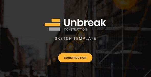 Unbreak - Construction Sketch Templates - Corporate Sketch