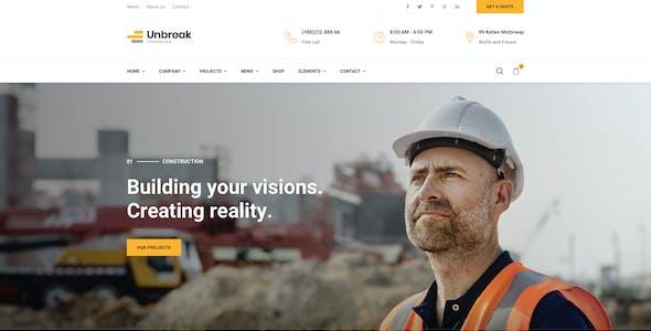 Unbreak - Construction Sketch Templates