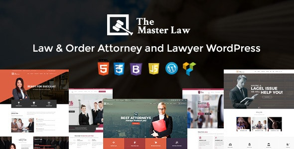 Master Law Agency And Lawyer WordPress Theme - Lawyer WP - Business Corporate