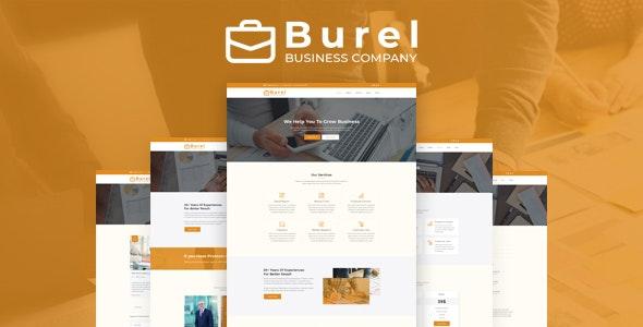 Burel - Corporate & Business PSD Template - Corporate PSD Templates