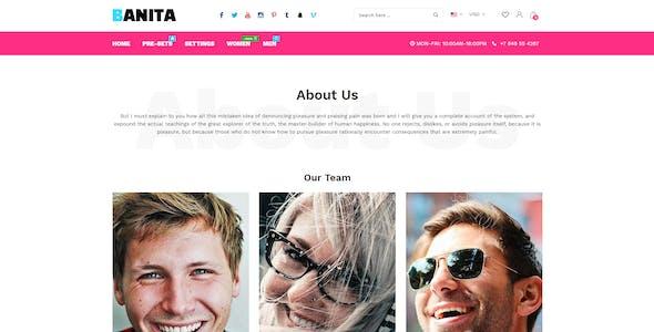 Banita - Shopify Theme
