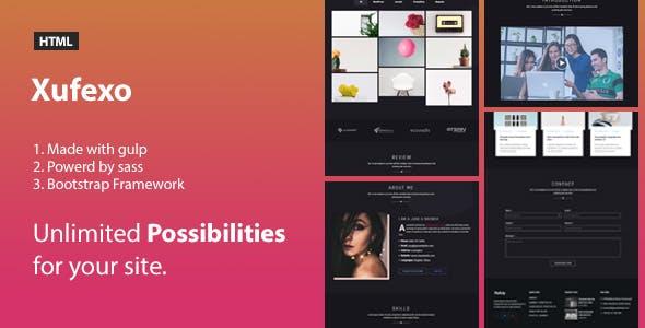Pofoly - Portfolio HTML Template