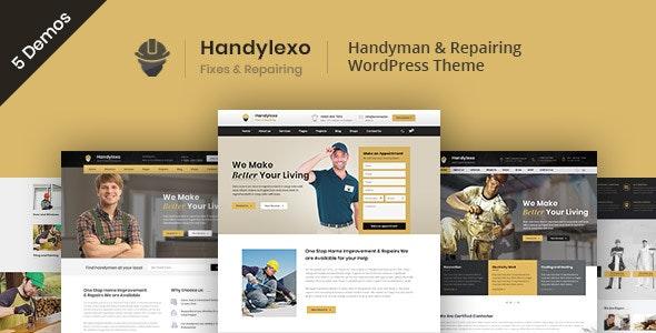 Handylexo | Handyman Repairing WordPress Theme - Business Corporate