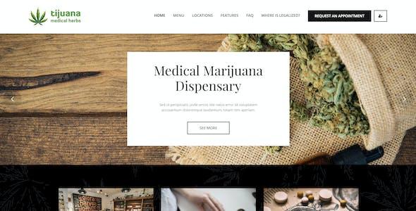 Tijuana - Marijuana Dispensary & Medical WordPress Theme