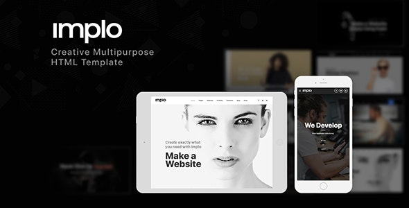 Implo - Responsive Multi-Purpose HTML5 Template - Business Corporate