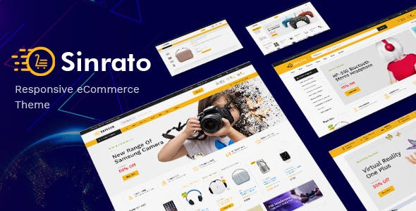Sinrato - Electronics Theme for WooCommerce WordPress