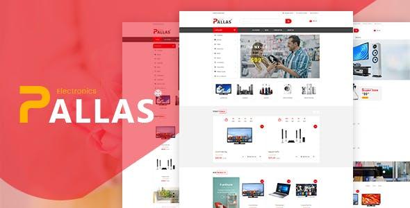 Pallas - Bootstrap 4 Electronics eCommerce HTML Template
