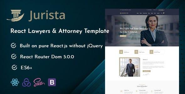 Jurista - Law Firm React Js Template