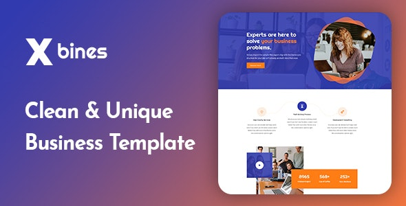 Xbines - Corporate and Business HTML5 Template - Business Corporate