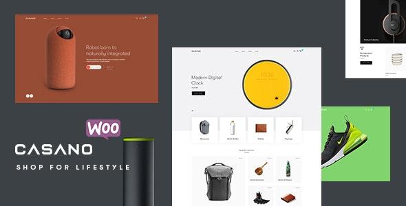 Casano - Fashion & Accessories WooCommerce Theme - WooCommerce eCommerce