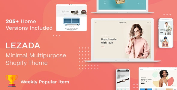 Lezada - Multipurpose Shopify Theme by BootXperts | ThemeForest
