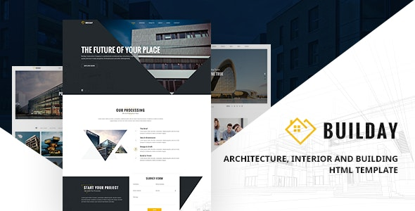 Builday - Modern Architech, Interior And Building HTML Template - Creative Site Templates