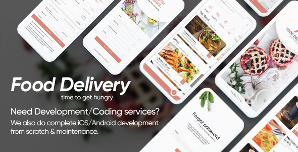 Foodnest - Food Service App - Food Retail