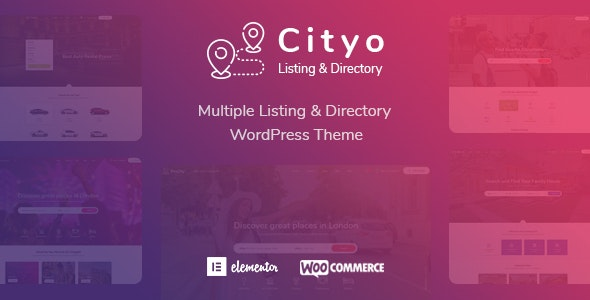 Cityo - Multiple Listing Directory WordPress Theme - Directory & Listings Corporate