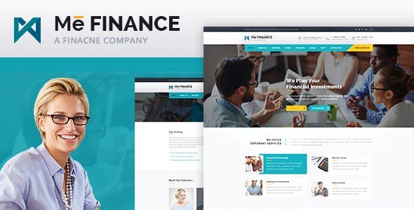Me Finance - Business and Consulting HTML Template