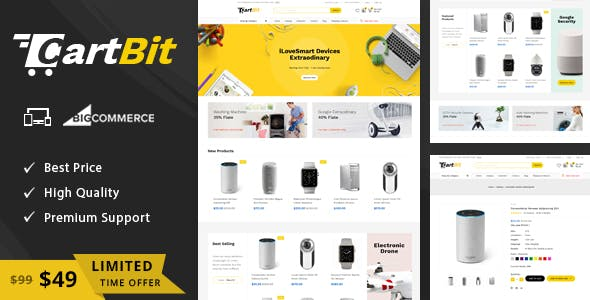 CartBit - Multipurpose Stencil BigCommerce Theme nulled theme download