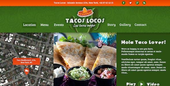 Food Truck & Restaurant 10 Styles - HTML5 Template