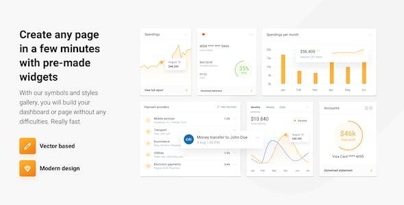 IOFinance - UI Kit for Finance, Banking and Wallet Websites