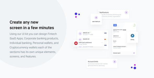IOWalley - Mobile UI kit for Banking Apps & Crypto Wallets