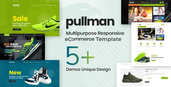 Pullman - Shoes Store HTML Template - Fashion Retail