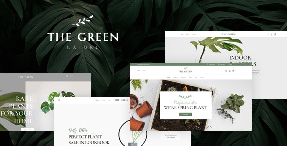 The Green - Houseplants & Gardening WordPress Theme - WooCommerce eCommerce