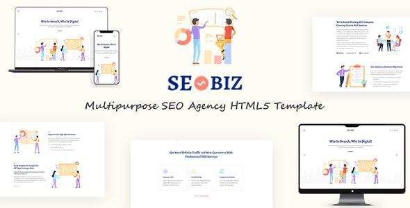 Seobiz | Multipurpose SEO HTML5 Template - Marketing Corporate