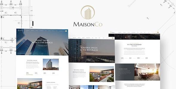 MaisonCo - Single Property WordPress Theme - Real Estate WordPress