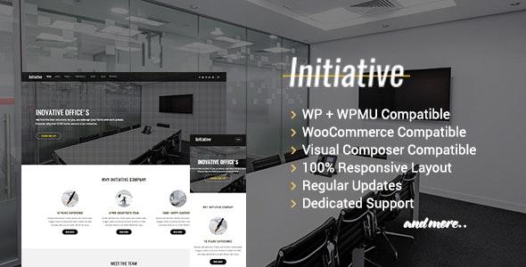 Initiative - Interior Design & Architect Company WordPress Theme - Portfolio Creative