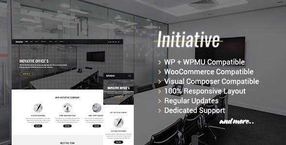 Initiative - Interior Design & Architect Company WordPress Theme