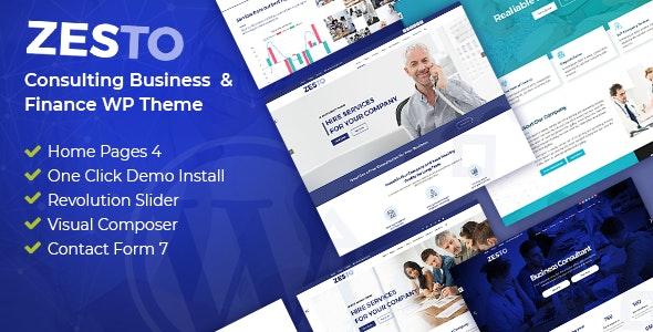 Zesto - Agency Corporate WordPress Theme - Corporate WordPress