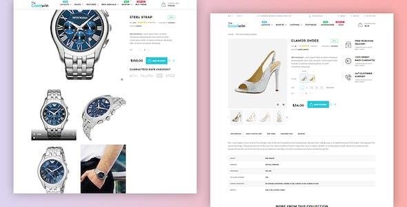 Goodwin - eCommerce HTML Template