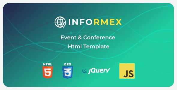 Informex | Conference & Business Html Template - Business Corporate