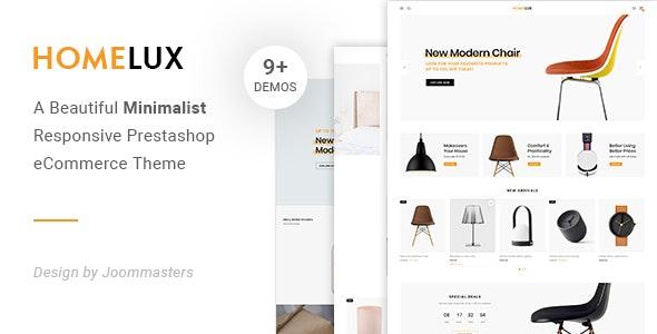 Homelux - Creative eCommerce Prestashop Theme - PrestaShop eCommerce