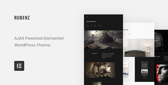 Rubenz – AJAX Creative Portfolio WordPress Theme - Portfolio Creative
