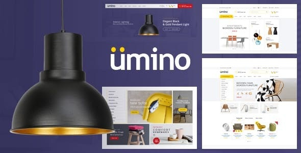 Umino - Furniture & Interior eCommerce Bootstrap 4 Template - Shopping Retail