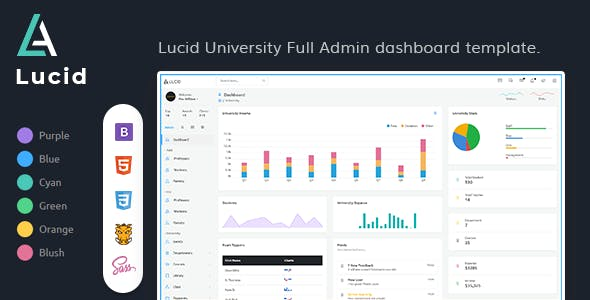 Lucid - Powerful Bootstrap 4x Multi-purpose Admin Template