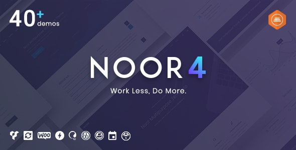 Noor | Multi-Purpose & Fully Customizable Creative AMP Theme by