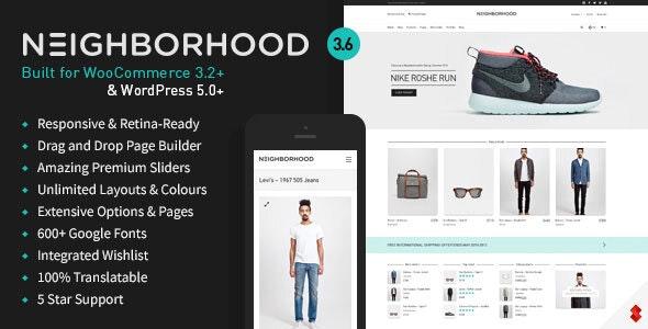 Neighborhood - Responsive Multi-Purpose Shop Theme - WooCommerce eCommerce