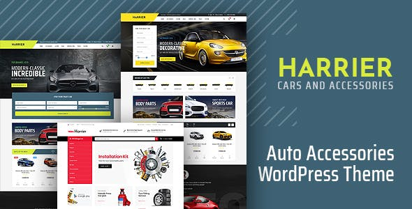 Harrier - Car Dealer and Automotive WordPress Theme