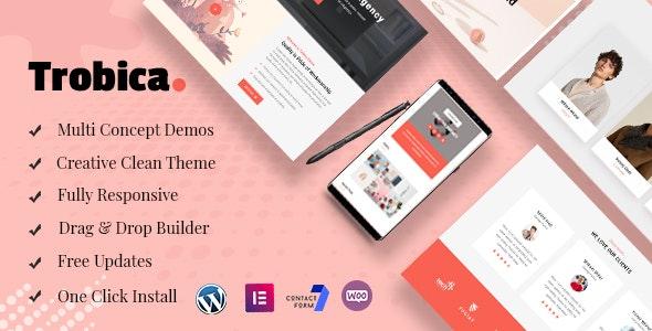 Trobica - Multi Purpose WordPress Theme - Portfolio Creative